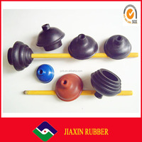 Factory price colored custom Toilet Plunger With Rubber Suction Cup