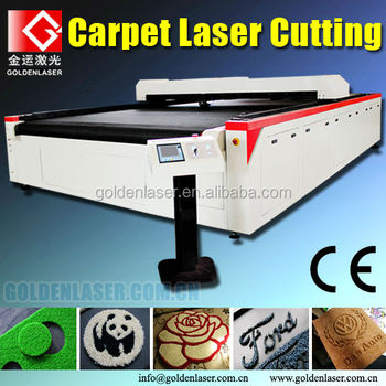 automatic feed CO2 carpet laser cutting machine price