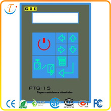 pet flat membrane switch panel with clear window
