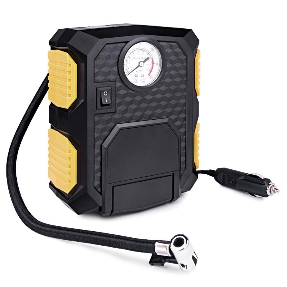 Auto Digital Tire Inflator 12V 150PSI Vehicle Inflatable Pump for Car Bicycle