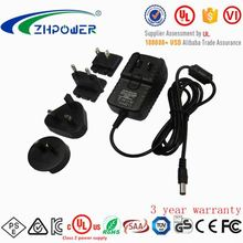 interchangeable quick dual port usb charger 2a 24v 220v power adapter with PSE/KC/SAA/UL/FCC/CE