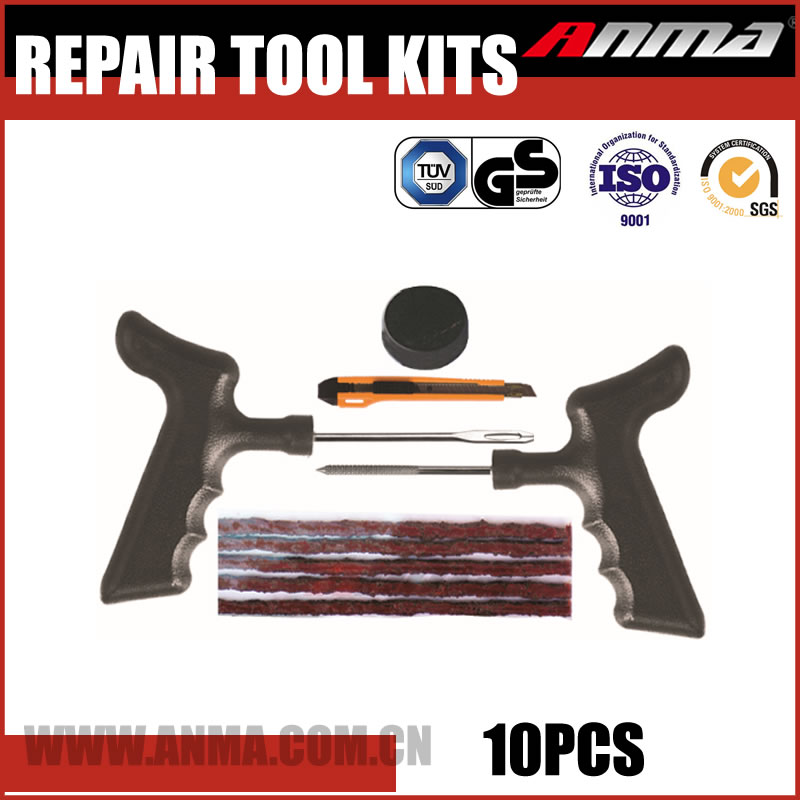 Tire tyre puncture repair Plug and Seal kit
