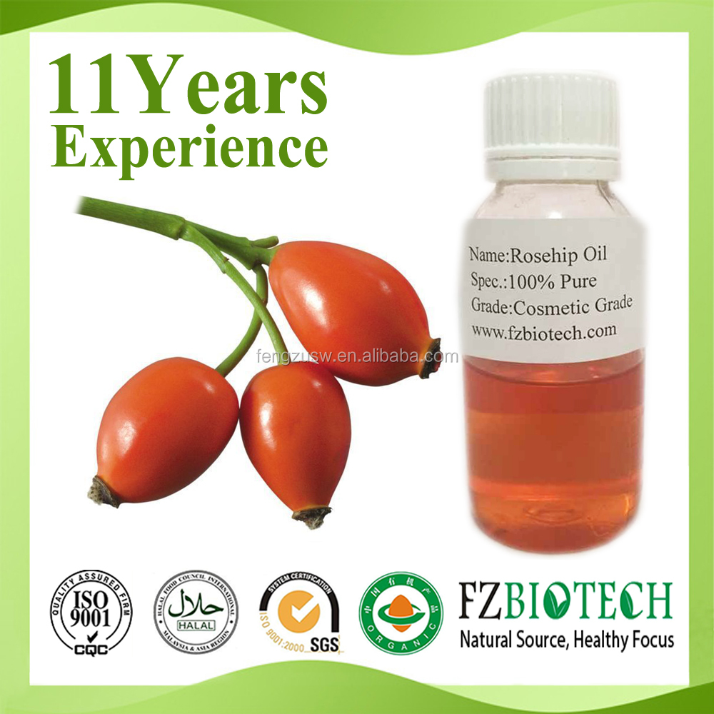 Free sample rose hip oil organic,pure cold pressed rose hip seed oil