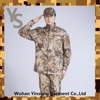 [Wuhan YinSong] Special troops python patterned outdoor suits, custom camouflage military uniform, army uniform