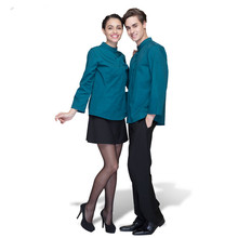 OEM Wholesales China Uniform Factory Modern Restaurant Hotel Staff Uniform