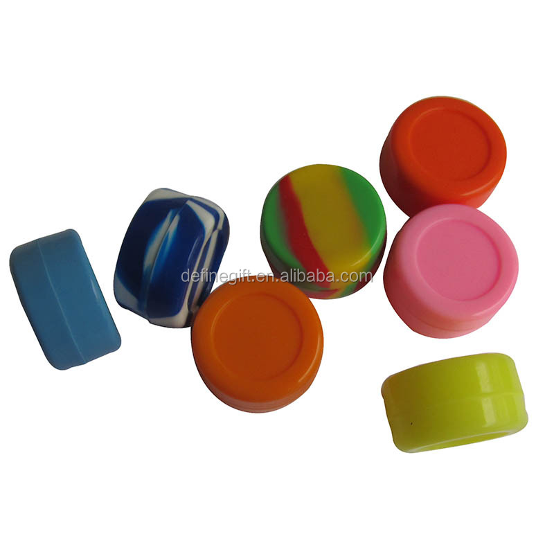 Silicone Non Stick Concentrate Containers Silicone Concentrate Jars
