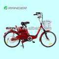 350W 48V 12AH electric bike with Pedals or throttle bar