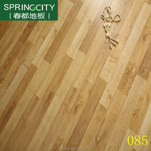 8mm hdf small embossed surface uniclic laminate wood flooring suppliers