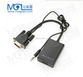 VGA to HDMI converter cable adapter with audio 1080P for PC laptop to HDTV Projector