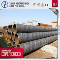 1m large diameter spiral welded steel pipe directly supply by factory