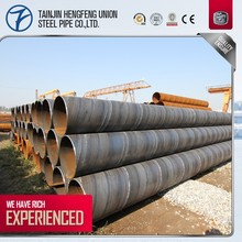Directly Supply By Factory 1 M Large Diameter Spiral Welded Steel Pipe