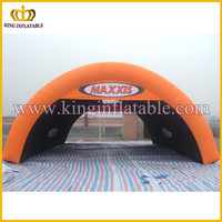 Giant outdoor inflatable arch tent for sale, durable huge inflatable tent