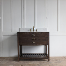 antique home style wooden bathroom vanity import