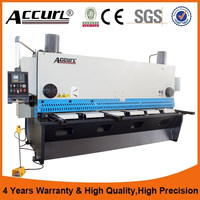 40X2500mm China Famous Brand Accurl Hydraulic Guillotine Shearing Machine Offered Overseas Service