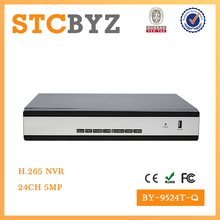 Hot sell 24 channel H.265 5MP support HDMI NVR