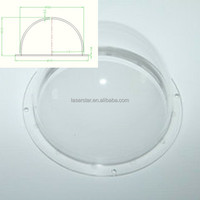 4 inch optical dome lens acrylic dome cover plastic dome