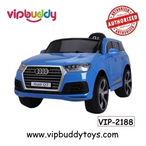 Quality multifunctional AUDI Q7 licensed battery powered hot wheels toy cars