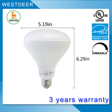 Dimmable E26 6.5w 11w 15w BR20 BR30 led lighting bulb with Energy Star