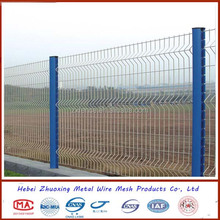 Cheap PVC coated high quality metal wire 3D curved fence panel