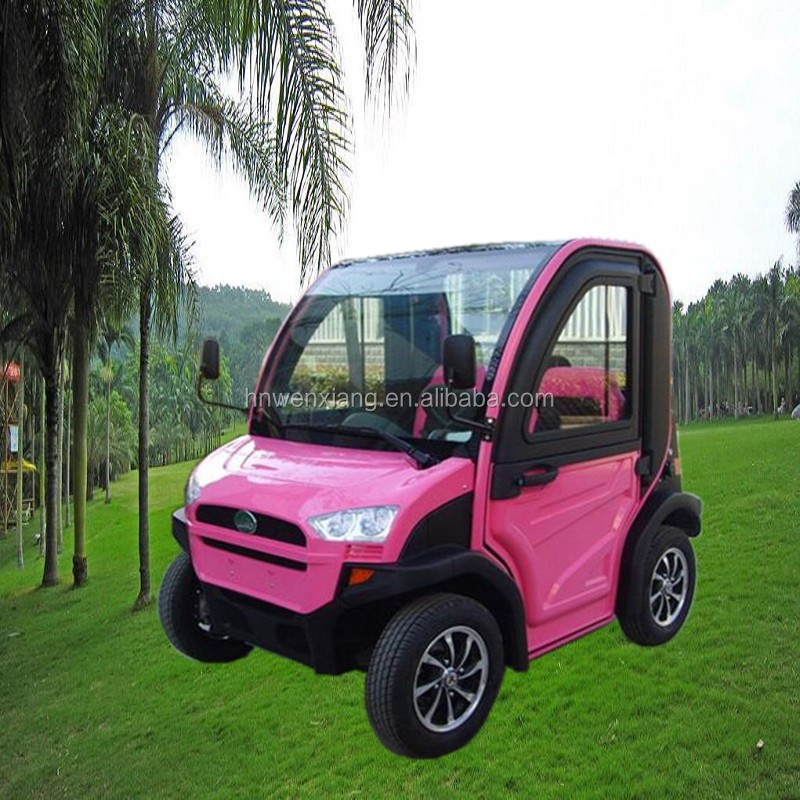 Off road 2 seats sightseeing car 4wd electric vehicle on sale