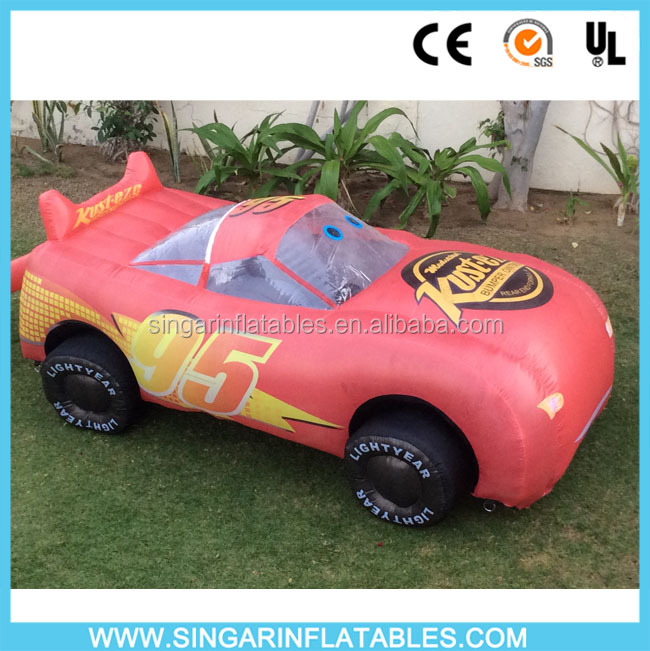 Inflatable floating billboard model car / toyota model car