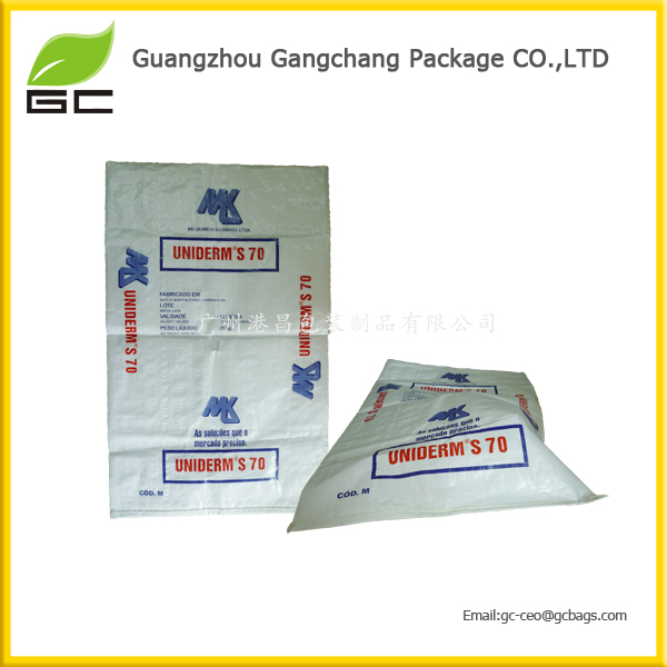 2016 The Eco-Friendly Waterproof Plastic Non Woven Rice Bag 25KG