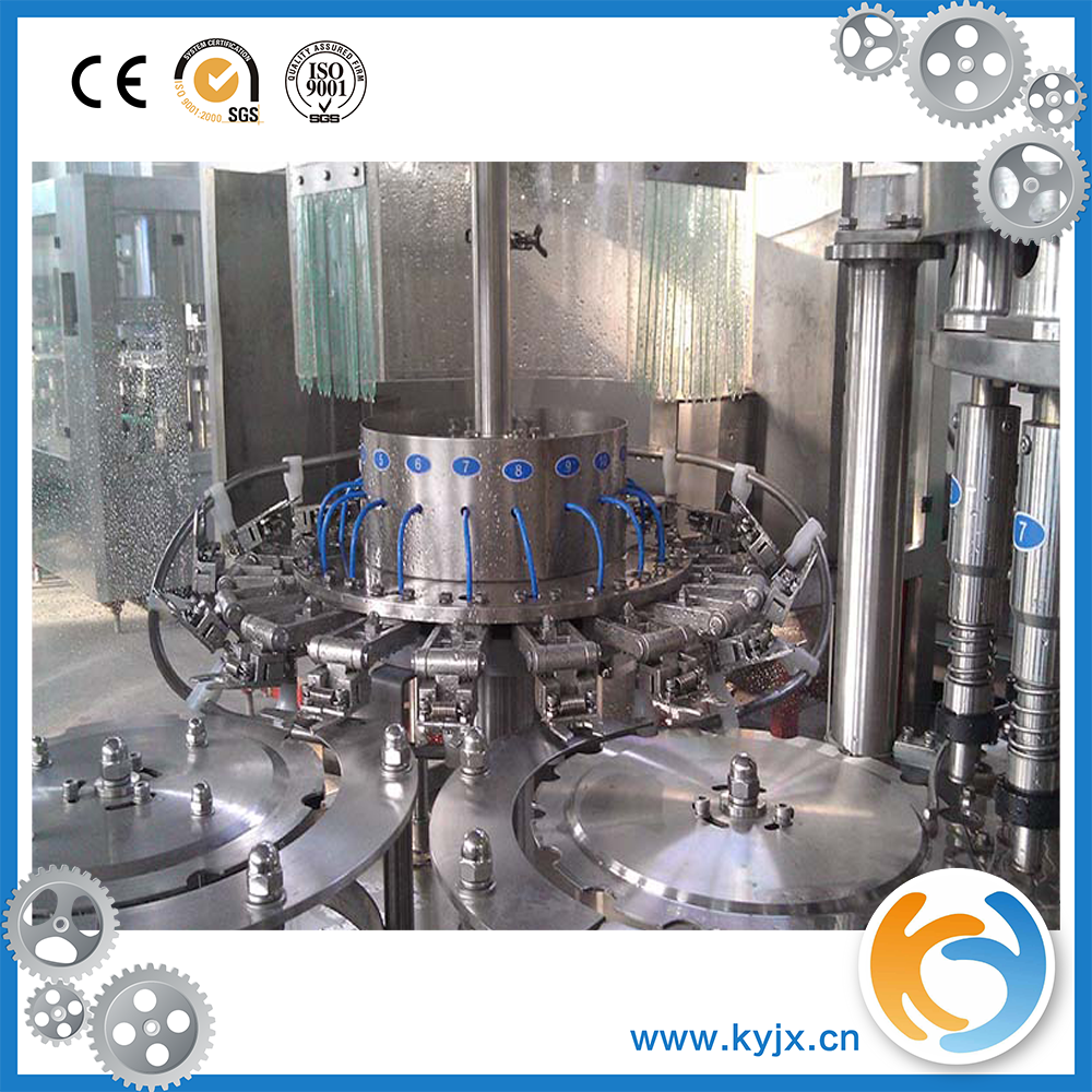 automatic plastic mineral water bottle filling production line