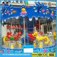 Theme Park Outdoor Antique Carousel For Sale