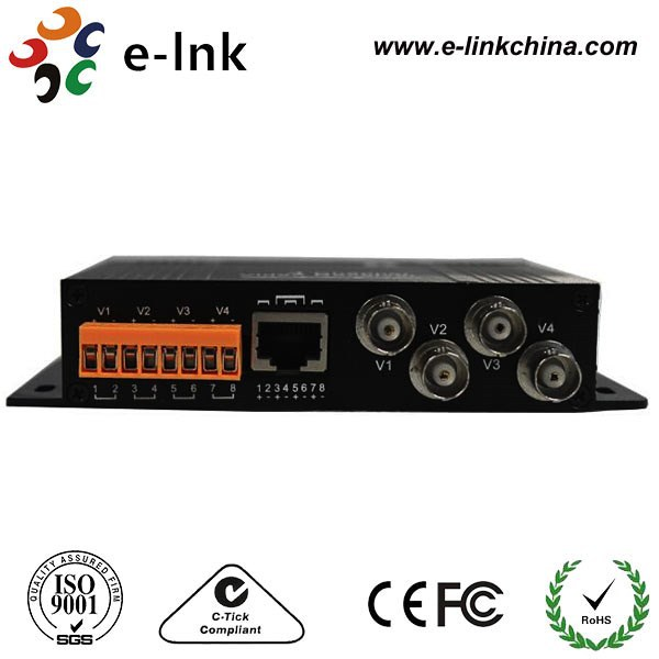 CCTV Accessories Video transceiver UTP 4ch Active Video Balun