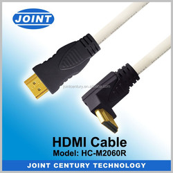 New products high quality 90 degree rca female to hdmi cable