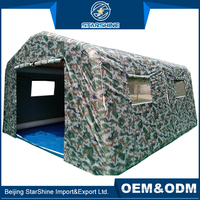 Manufacture Waterproof Outdoor Permanent Tent Army Military Medical Folding Inflatable Army Tent