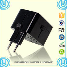 High quality products usb universal travel adapter set for worldwide use