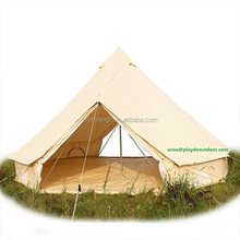 camping outdoor luxury canvas tents eco-lodge bell tent yurt tent