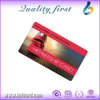 LBD Plastic Magnetic Stripe Card with Credit Card Size