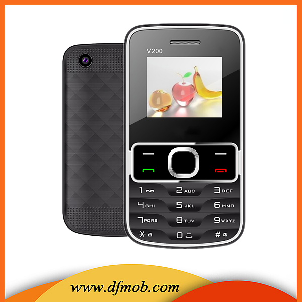 1.77 Inch Screen Quad Band FM GSM Dual SIM Card MP3MP4 FM Camera Unlocked Cell Phone Distributor Needed in USA V200