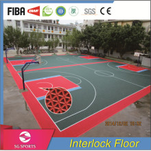 Good Quality Low Price Basketball Outdoor FLooring