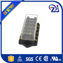 High Quality Universal Car Fuse Box 10 Way Circuit 32V DC Waterproof Blade Car Fuse Holder Box Block 0-25A Auto Boat Fuse Box
