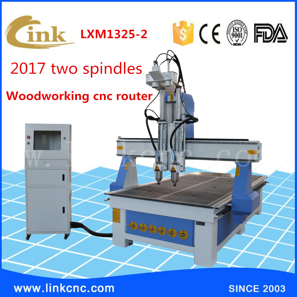 New type stronger China CNC router manufacturer,Trade assurance Good sale service 1325 CNC route/adding rotary/4 axis cnc router