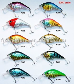 Hard lure - wobbler lures, ABS hard plastic fishing lure
