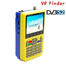 Freesat V8 finder with 3.5 inch LCD Colour Screen finder Fully DVB compliant Live FTA Digital Picture and Sound