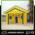 ISO 9001 sandwich panel steel structure prefab modular house