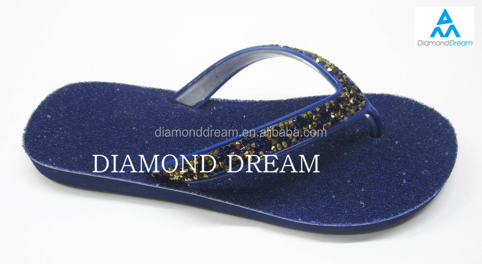 Hot Selling Custom Fashion Ladies EVA Wedding Flip Flops Wholesale