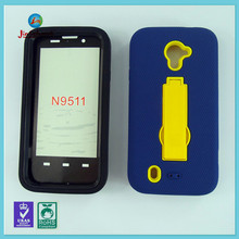 HOT NEW pc silicone hybrid kickstand phone case for ZTE n9511