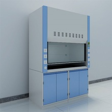 Steel chemical fume hood for lab