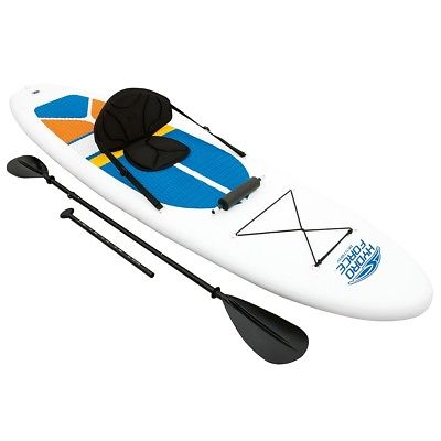 Bestway 65069 Hydro Force White Cap durable stand up paddle board Sup inflatable PVC surfboard