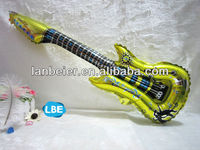 Best quality popular inflatable guitar novelty balloons