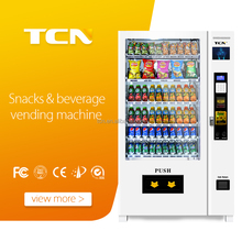 Automatic cold drink water chocolate refrigerated vending machine for sale M