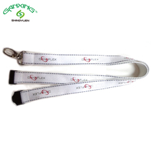 Wholesale Cheap Price New Keychain Screen Printed Reflective Lanyard