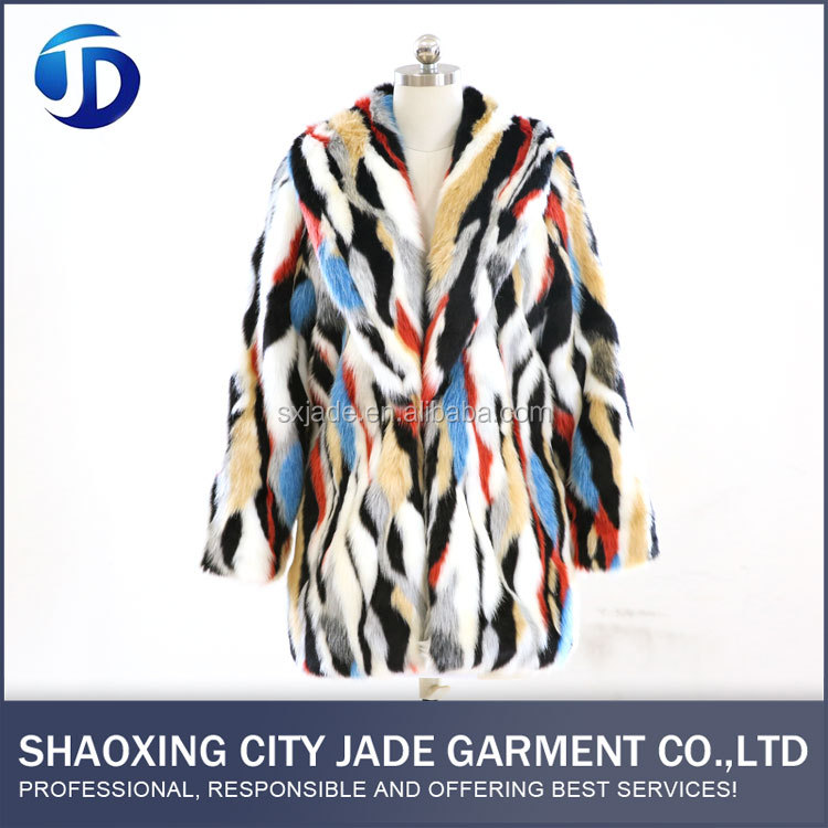 Durable Using Low Price Windproof Faux Fur Coat Latest