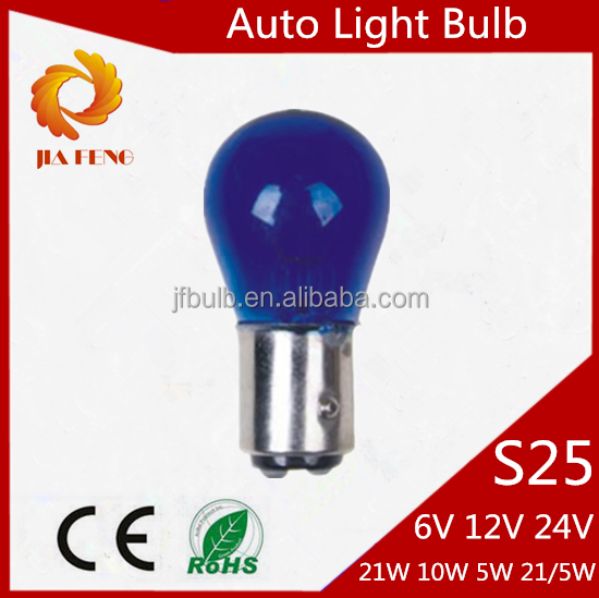 High Quality Auto Bulb S25 12V 21/5W BAY15D Turn Stop Lamp,auto bulb